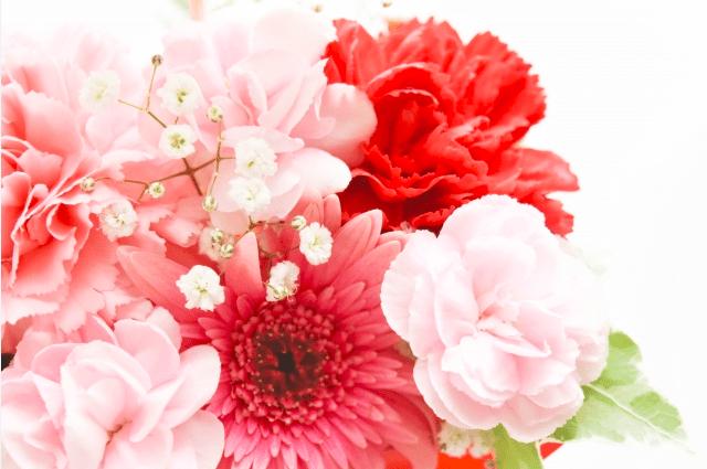 母の日のプレゼント_花が人気