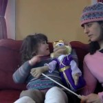 "Puppet Interview with 3 year old named ""Mama"""