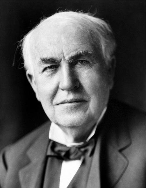 成功者はダメ人間?成功者の人生や生き方・考え方を探ってみた結果…トーマスエジソン