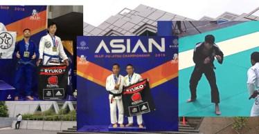 IBJJFアジア柔術選手権結果