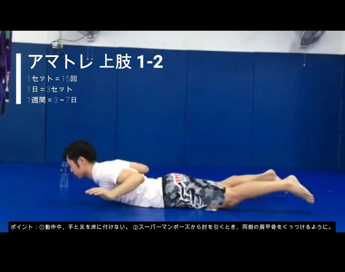 Amada Training Upper 1
