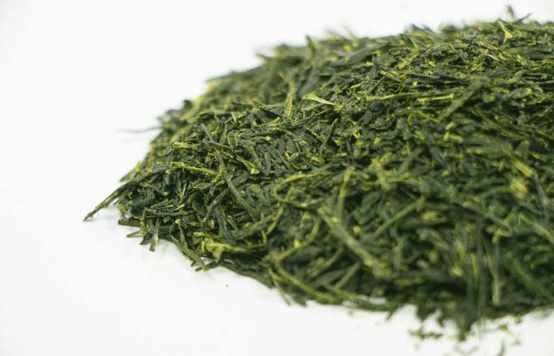 玉露の茶葉
