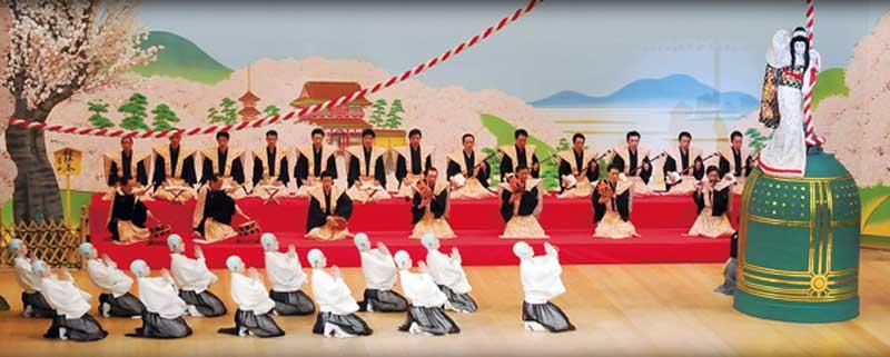 娘道成寺舞台