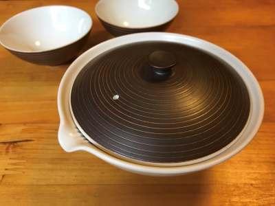 絞りだしと茶碗