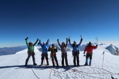 ワスカラン登山隊2017全員登頂!