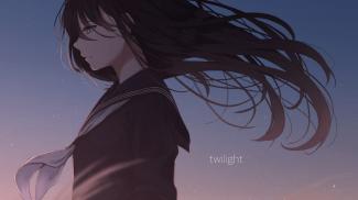 anime-girl-sad-school-uniform-windy-black-hair-profile-view