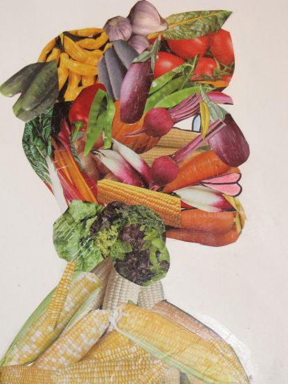 Arcimboldo man's head