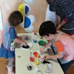 Arte en familia sin salir de casa con Sonia Delaunay