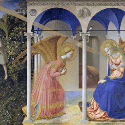 Arte en familia desde tu salón: La Anunciación de Fra Angélico