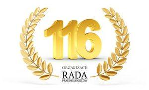 116 organizacji w Radzie Przedsiębiorców!