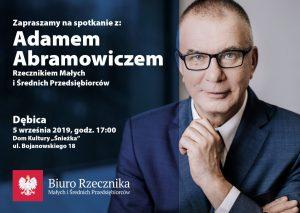 Spotkanie z Rzecznikiem MŚP w Dębicy