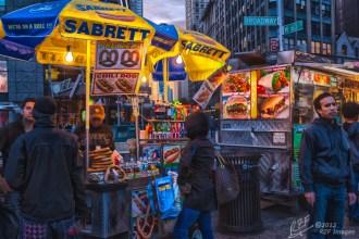 Street Vendors Columbus Circle