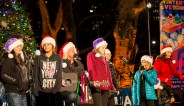 Arlo Guthrie & family playing folk and Holiday songs at Winter's Eve 2014