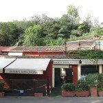 Testaccio - restauracje przy Monte de'Cocci