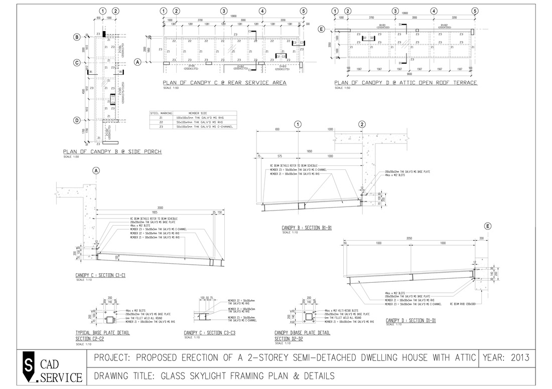 Civil Amp Structural Drawings S Cad
