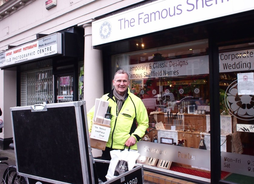 Paul Iseard, owner of The Famous Sheffield Shop