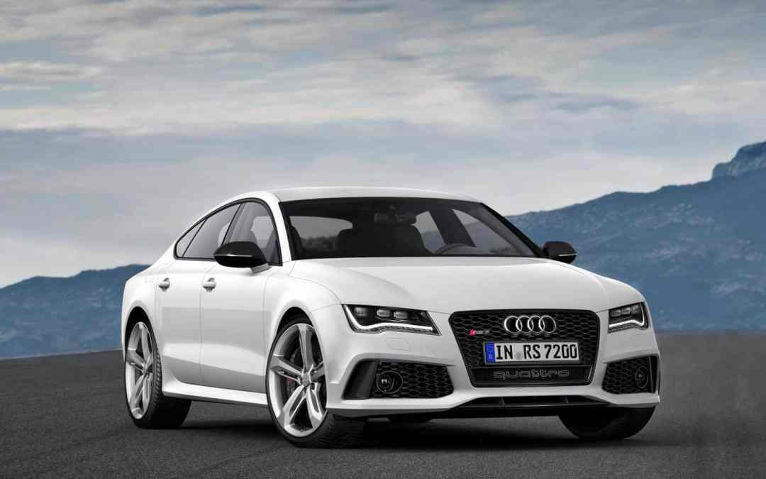 Dynamics at their most beautiful – the Audi RS 7