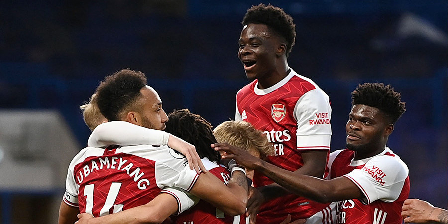 ARSENAL IN THE 90TH MINUTES TOUCHED THE VICTORY AT THE CRYSTAL PALACE