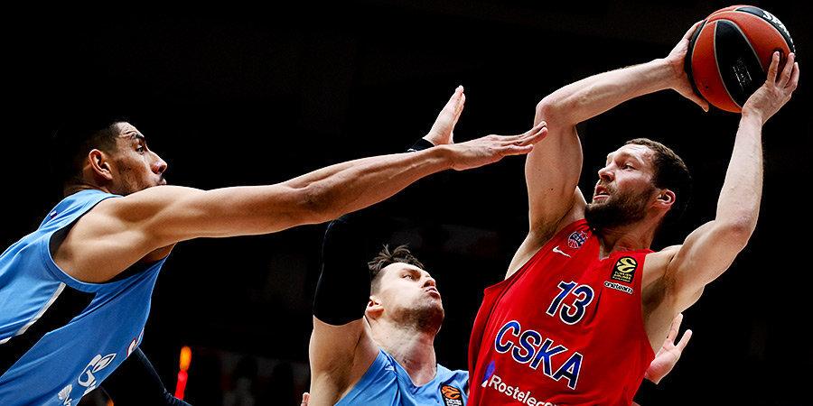 Милутинов и Стрелниекс не помогут ЦСКА в матче с «Барселоной»