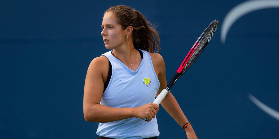 Касаткина выиграла турнир Phillip Island Trophy, обыграв в финале Бужкову