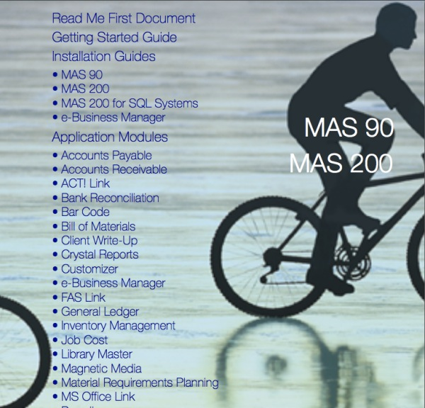 Sage 100 erp (mas90) web services manual.