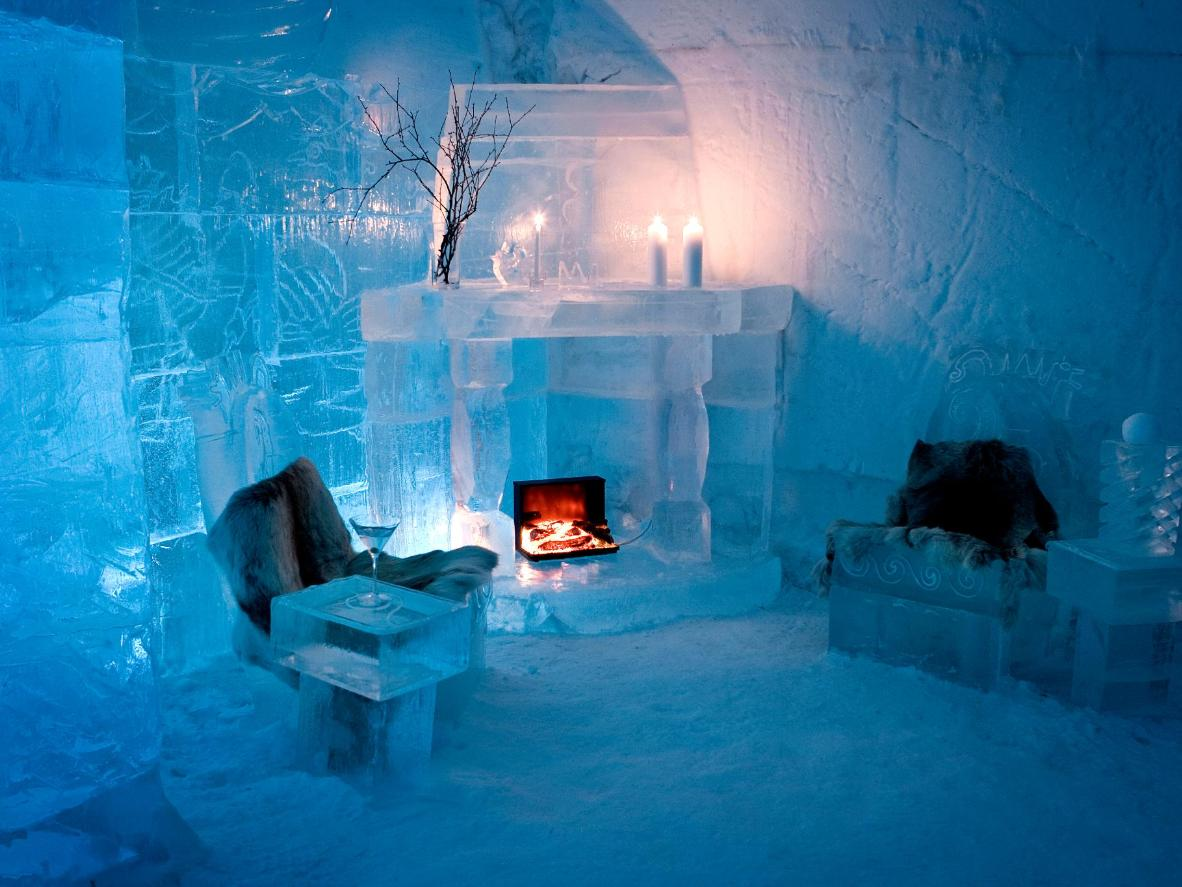 World Coolest Ice Hotels
