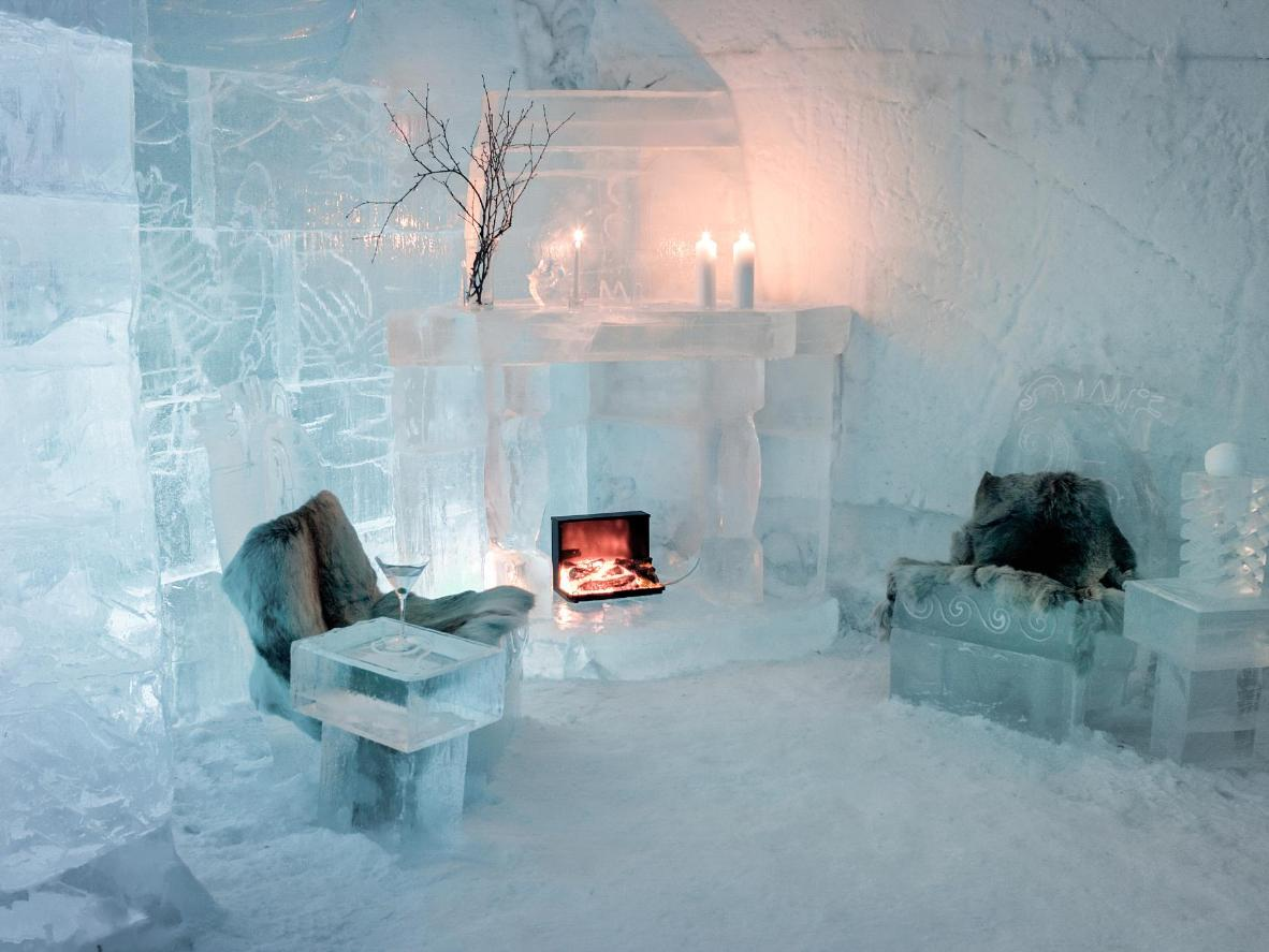 7 Snow Hotels Visit Winter