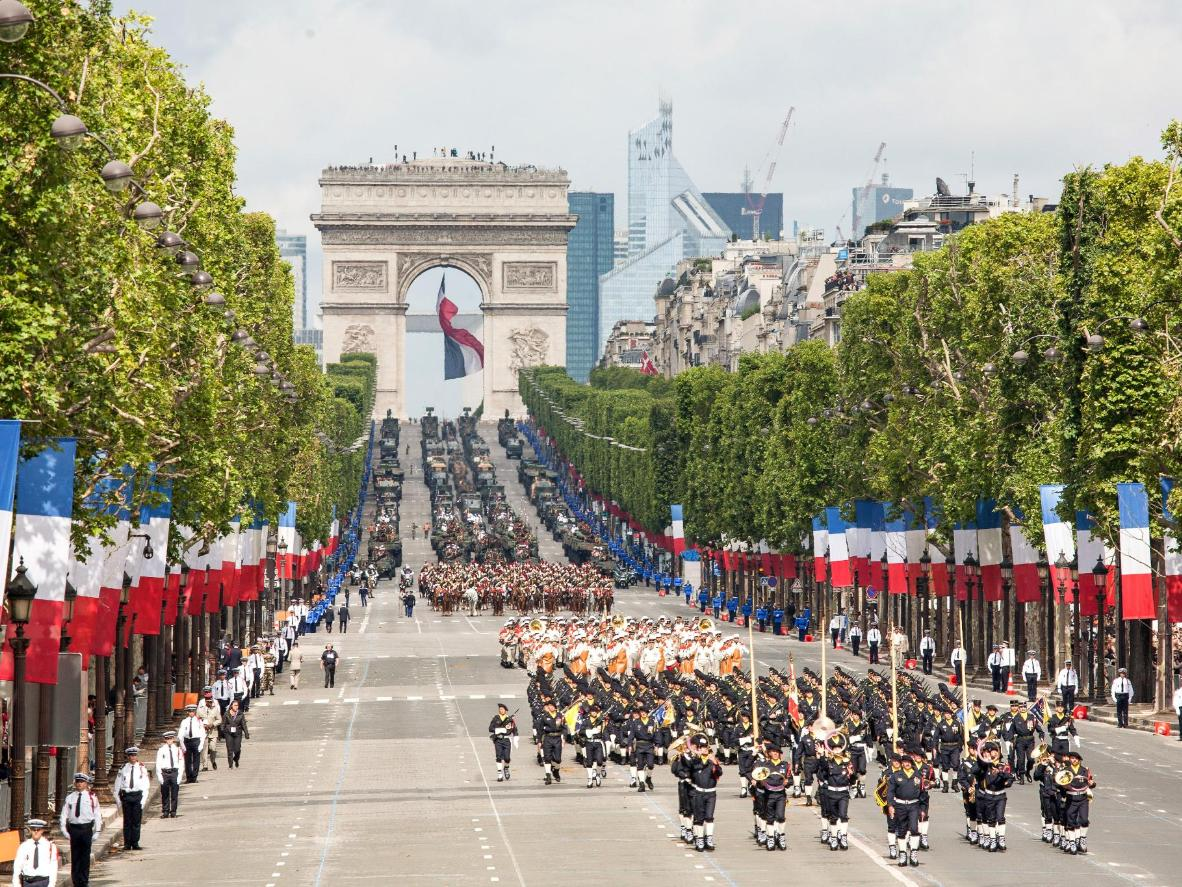 Celebrate Bastille Day In France