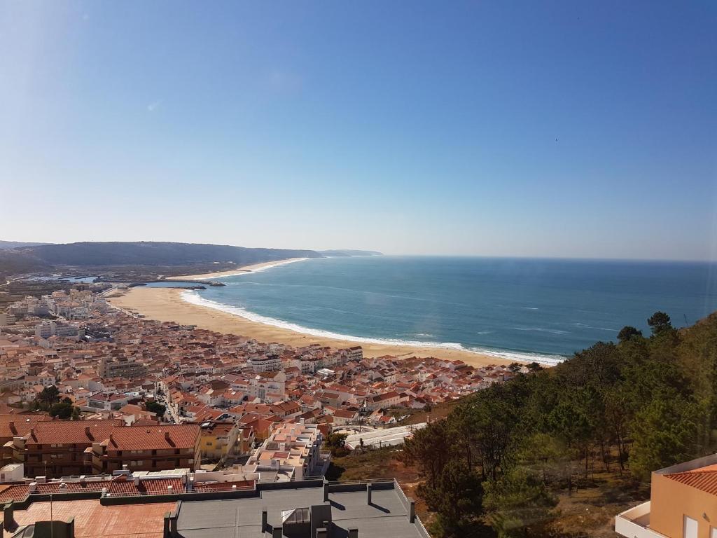 Apartamento Vista Atlntico Portugal Nazar  Bookingcom