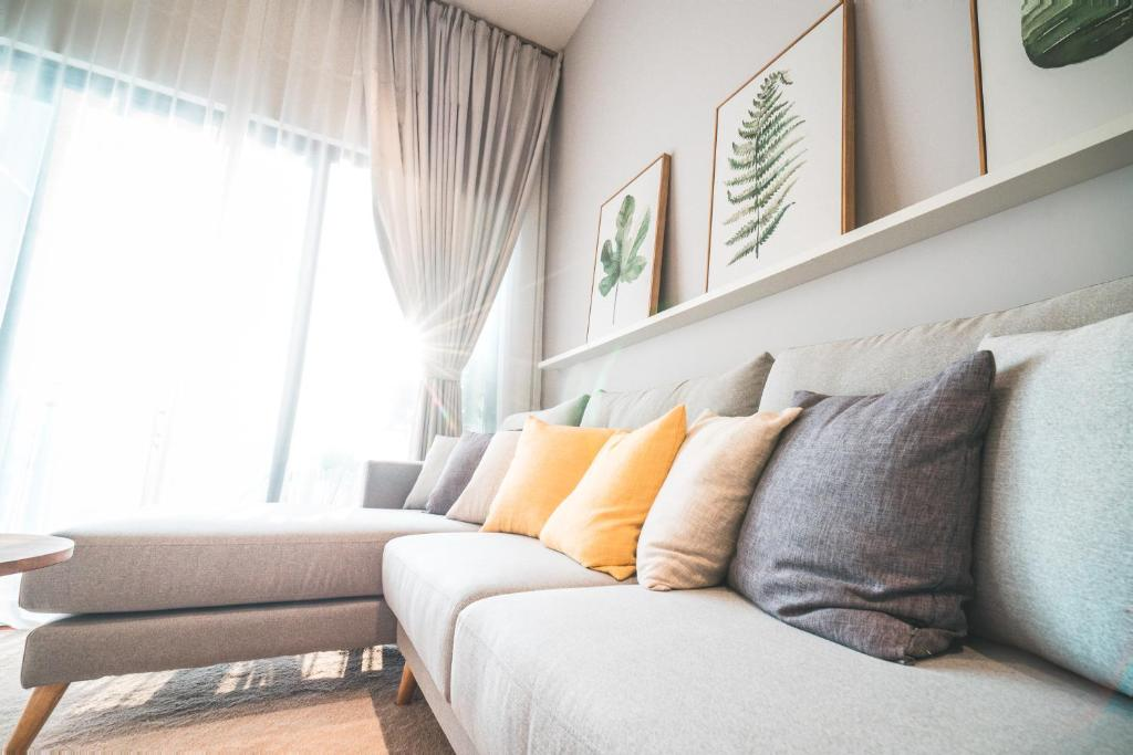 tropical living room in malaysia chairs target apartment the mews kuala lumpur booking com gallery image of this property