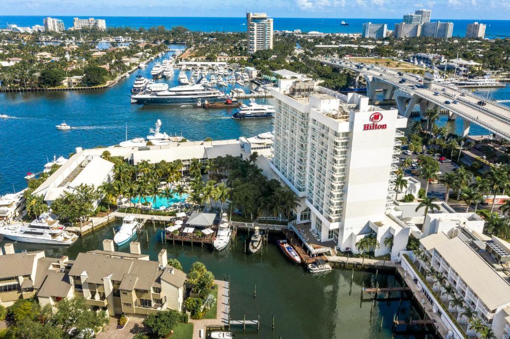 Hotel Hilton Ft Lauderdale Marina Fort Lauderdale FL  Bookingcom