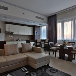 Living Room Restaurant Abu Dhabi Photo Interior Design Bin Majid Tower Hotel Apartments Updated 2019 Prices Gallery Image Of This Property