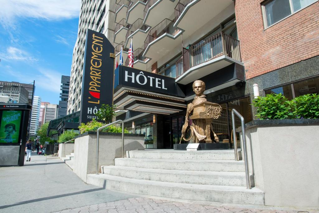 LAppartement Htel Montreal Canada  Bookingcom