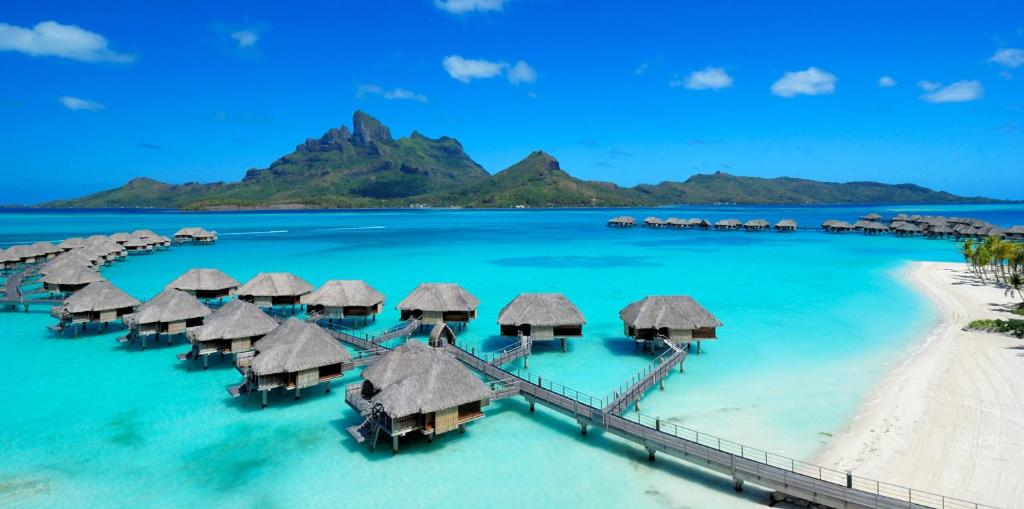 Image result for French Polynesia - Bora Bora, Four Seasons Resort