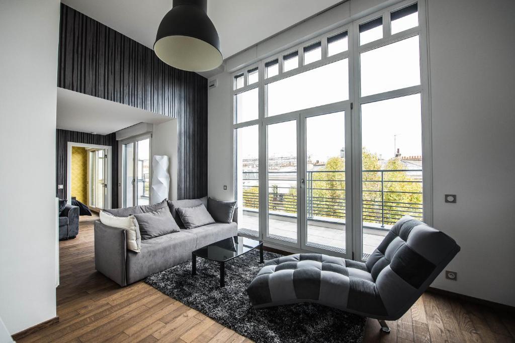Les Appartements Paris Clichy France  Bookingcom