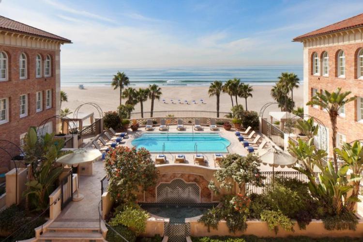 Отель в Лос-Анджелесе 5 звезд Каса-дель-Мар (Casa Del Mar, Санта-Моника)