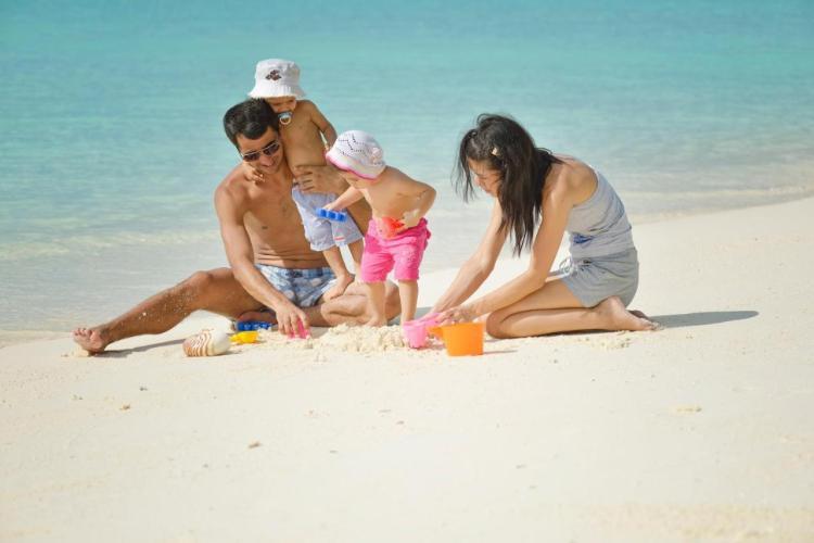 Отдых с детьми на Мальдивах в отеле Парадайз Айленд