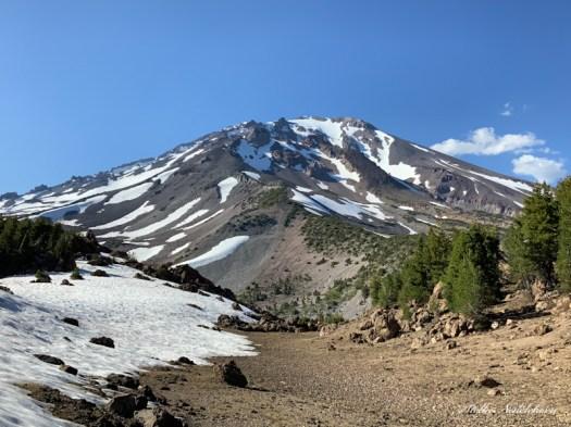 Vue sur Mont Shasta