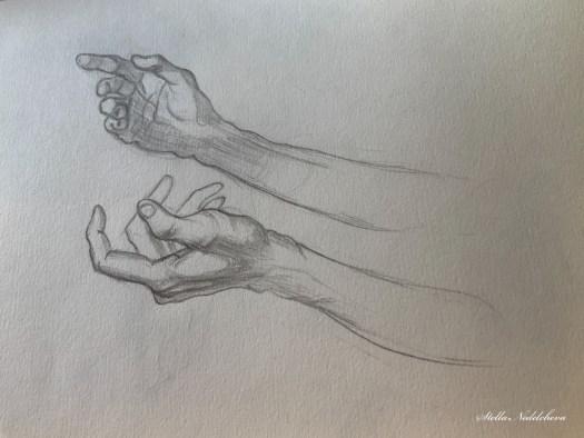 Croquis de mains