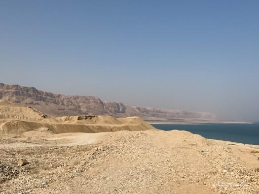 Paysage sur la Mer Morte