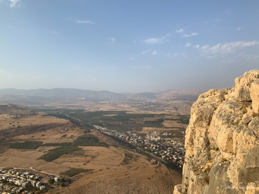 Vue du Mont Arbel (Israël)