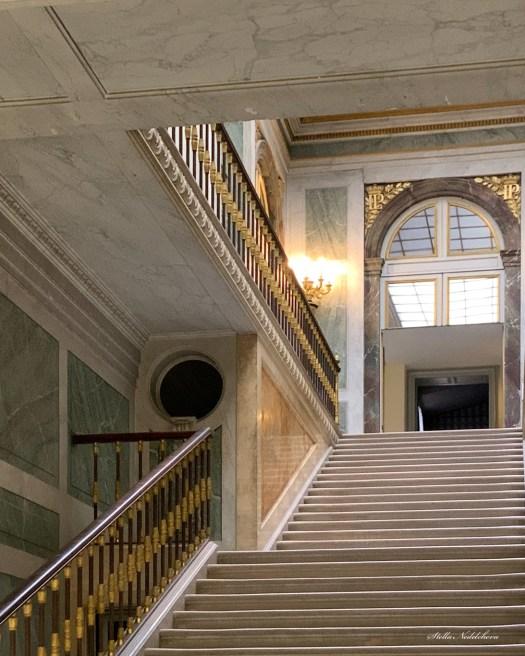 escalier du château de Versailles