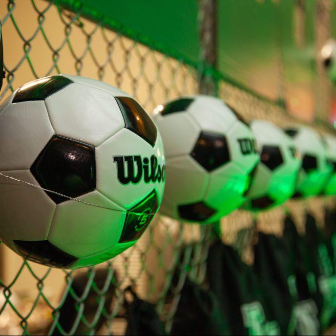 Soccer Bar Mitzvah Decor