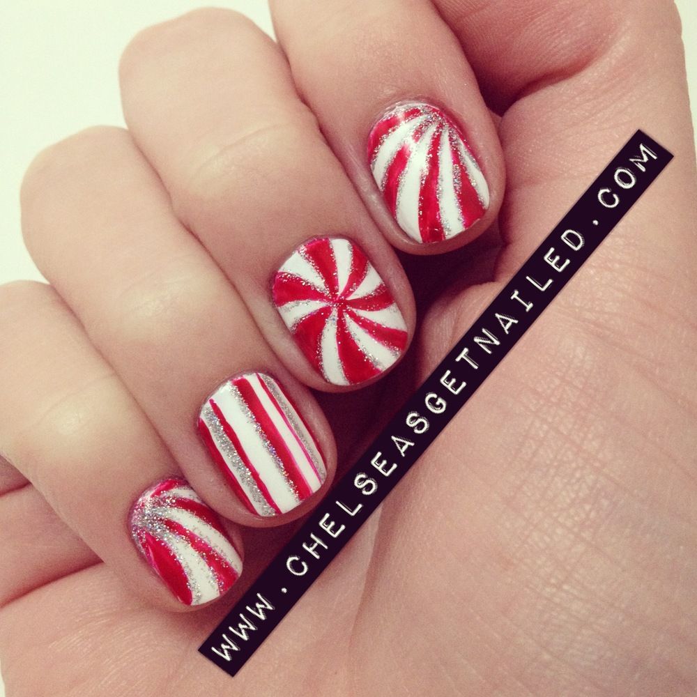Christmas Diy Nail Ideaore Of Our Manicures From This Weekend Photos Huffpost