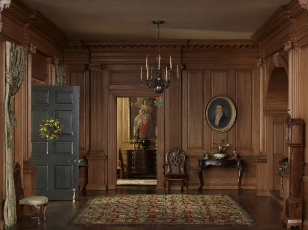 Thorne Miniature Rooms Holiday Trimmings Shows Tiny Decor In Amazing Detail Huffpost