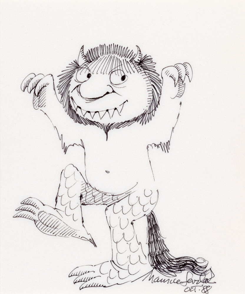 Maurice Sendak Auction: Drawings And Rare Edition Of