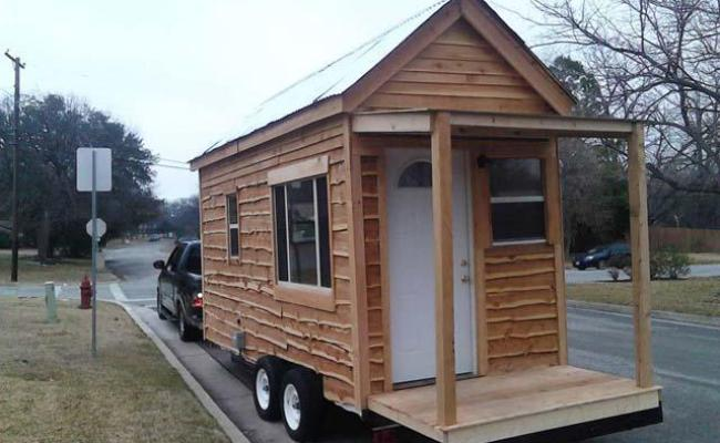 Tiny Home Trailer For Sale Reminds Us That Small Living