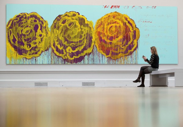 Cy Twombly Birthday Cryptic Painter Born 85 Years
