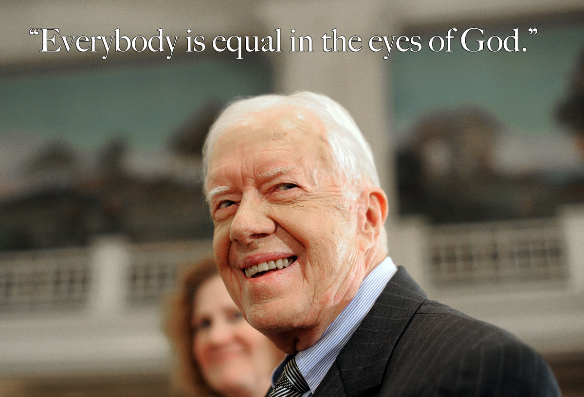 Jimmy Carter Turns 90 The 39th President's Most Inspiring