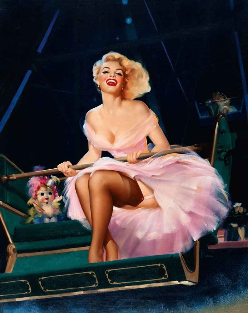The Glamorous History Of Pin Up From Kitsch To Commercial